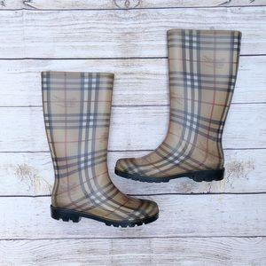 Burberry | Rain boots | Size 7